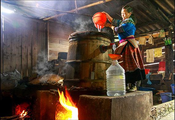 Rượu ngô Lai Châu