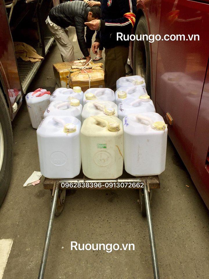 Vận chuyển rượu ngô từ Hà Nội xuống Hải Phòng tối đa 2h đồng hồ