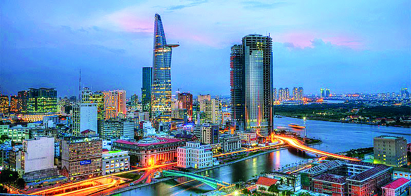 Thành phố Hồ Chí Minh là trung tâm kinh tế phát triển nhất nước ta